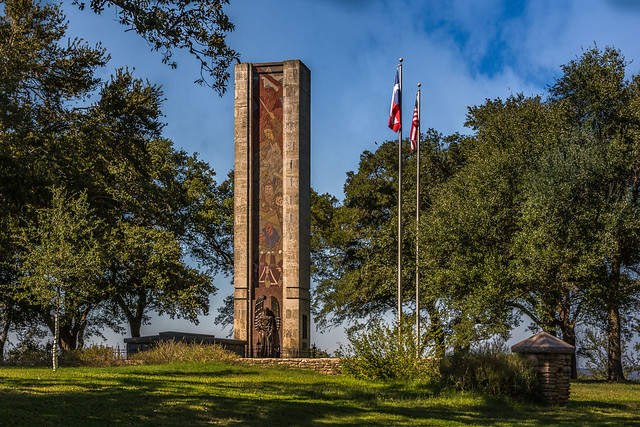 Monument to the Battle of Salado Creek
