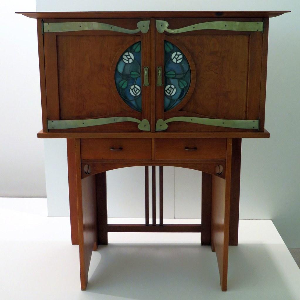 Art Nouveau Jugendstil Piece Of Furniture By Richard Rie Flickr