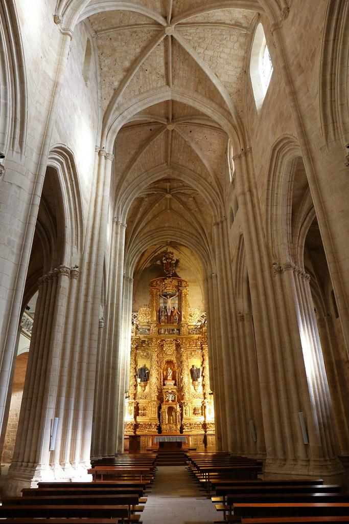Santa Maria La Real De Najera Interior J L C Flickr