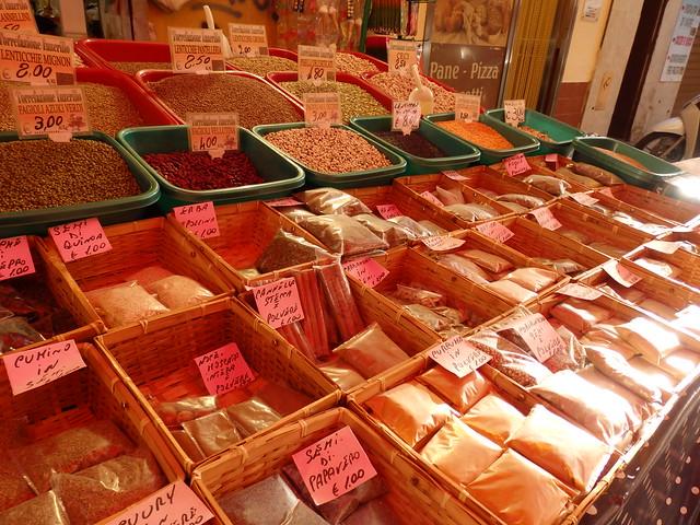 Spices in the Ballarò Street Market