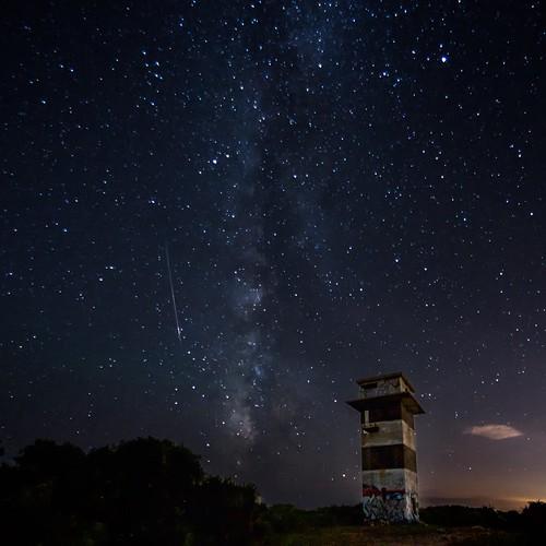 sky landscape nikon massachusetts astrophotography westport meteor milkyway perseids gooseberryisland d7000 samyang8mmf35fisheyecs