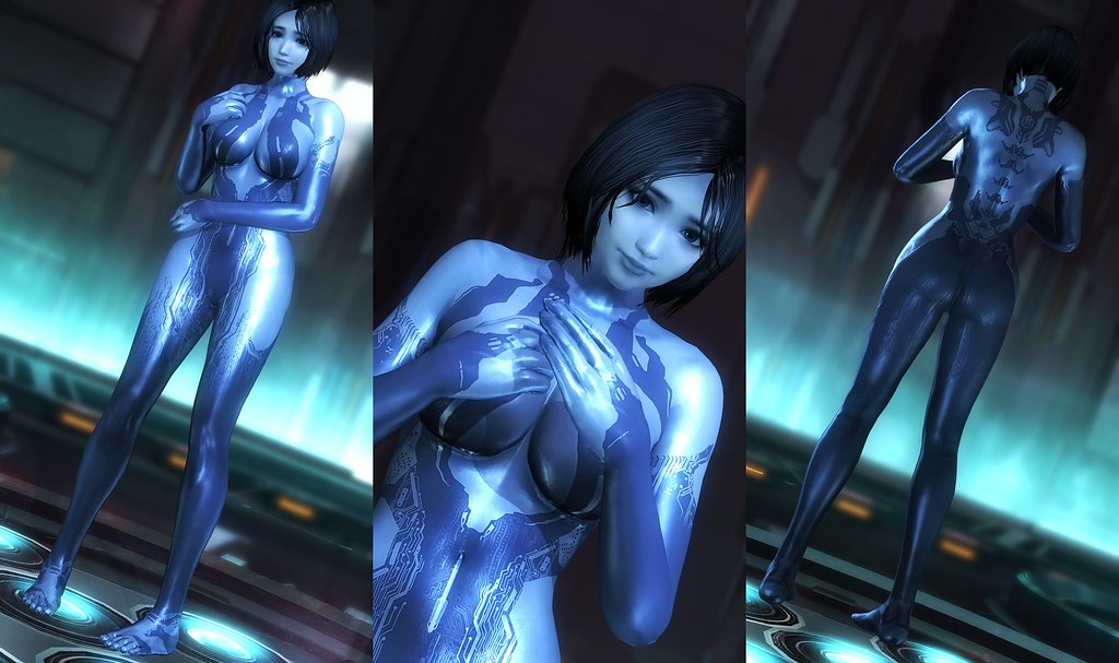 Doa5 Lr Cortana From Halo Www Oneangrygamer Net Flickr