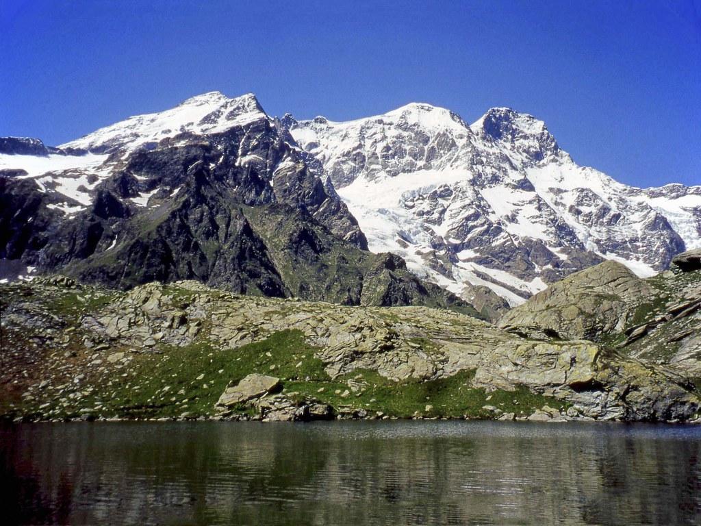 Il Monte Rosa dalla Bocchetta delle Pisse