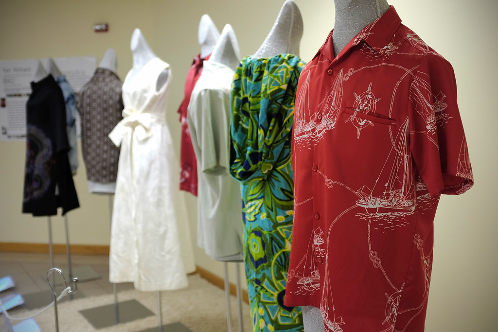 <p>Celebrating 50 Years of UHM Costume Collection: This exhibit features approximately one Qing dynasty dragon robe, Japanese Uchikake (70s'), and eight Hawaii wears along with 17 research posters and about 15 Asia dolls from the College of Tropical Agriculture &amp; Human Resources' Historic Costume Collection, the largest Asian costume collection in an American university.</p>