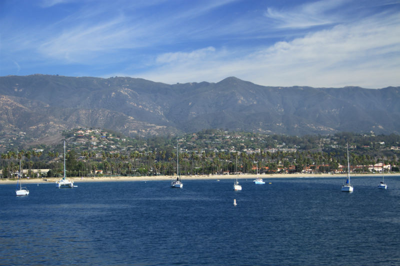 Playas de Santa Barbara, California
