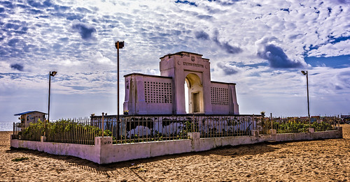 elliotsbeach beach besantnagar chennai india karlschmidtmemorial flickrtravelaward nikon landscape nikkor1424mmlens nikond810 southindia wideangle rvkphotographycom rvkphotography rvkonlinecom