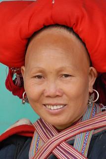 Vietnam Sa Pa Thai Lady Portrait