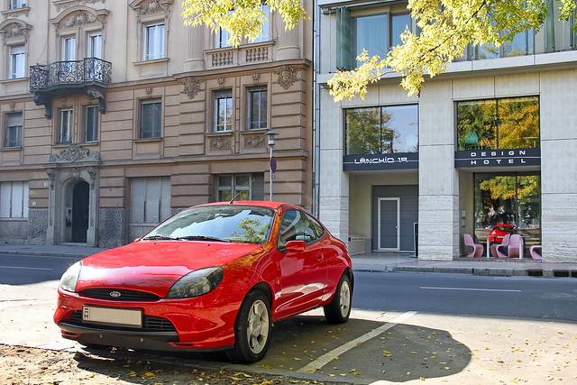 Ford Puma - Budapest autumn