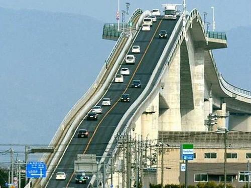23726086201_7b70573f92 Eshima Ohashi - le pont qui ressemble à des montagnes russes