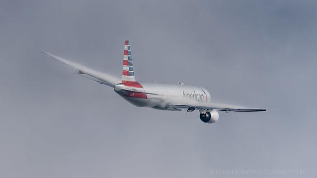 N760AN | Boeing 777-200ER | American Airlines | London Heathrow | October 2016