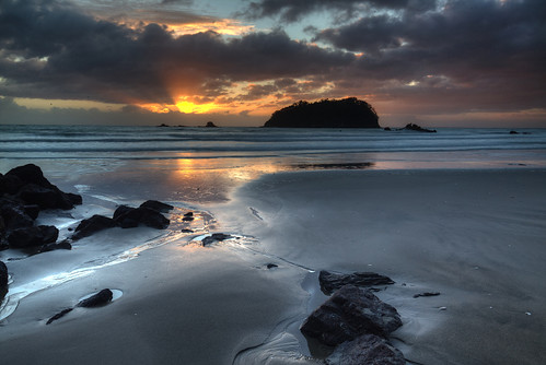bayofplenty mountmaunganui newzealand nz beach sunrise