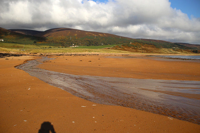 The beach near Lothmore