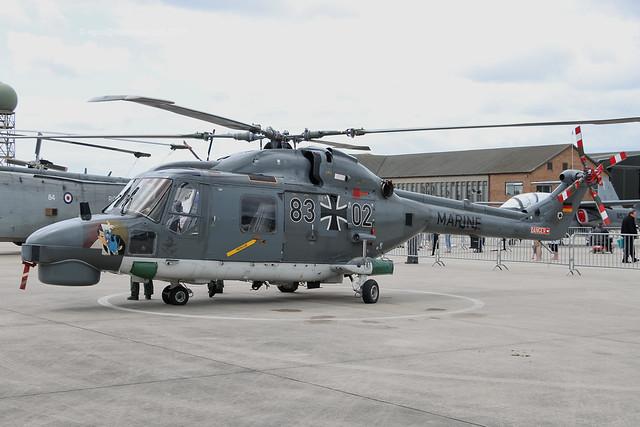 8302 - 1981 build Westland Lynx Mk.88A (Super Lynx conversion), part of the static display at Yeovilton International Air Day 2015