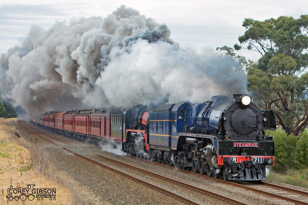 Steamrail Snow Train Trip by Corey Gibson