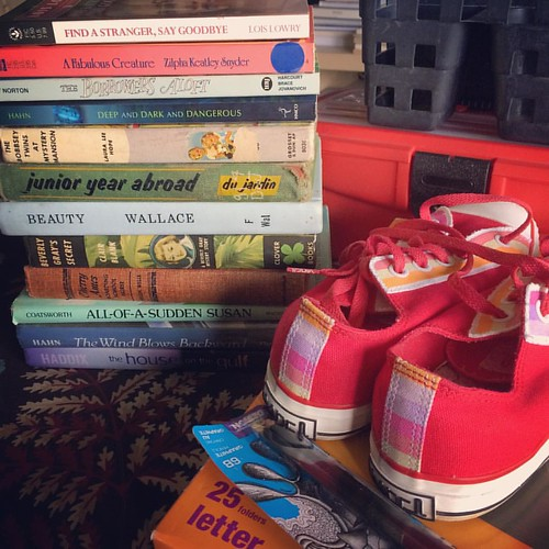 Goodwill Haul #thrifting #goodwill #books #vans | by Cat Sidh