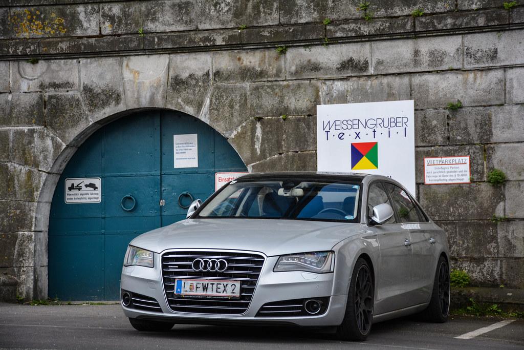 Audi A8 D4 De Zwarte Velgen Doen Het Naar Mijn Mening Er