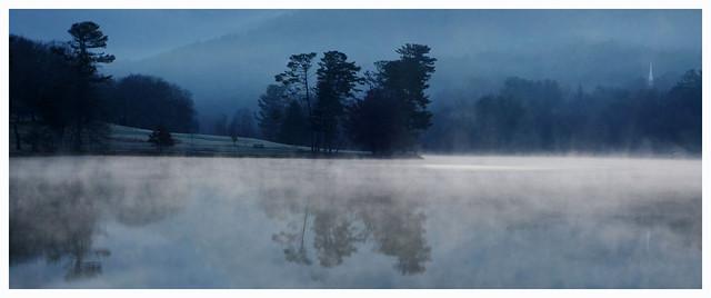 Winter Morning, Beaver Lake, Asheville, NC
