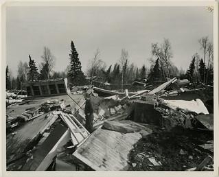 4/64. Anchorage - Shows savage destruction in Turnagain