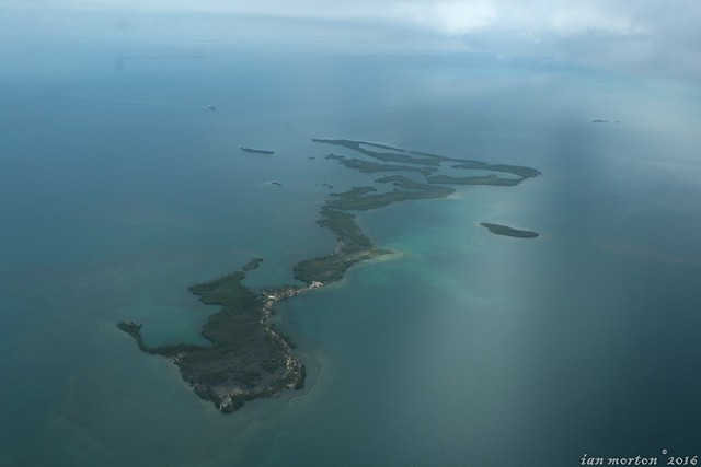 Goodbye Belize Tour - Aerial - Placencia to Belize City - 27