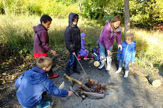 Home schooling group: Noakes Grove campfire | by organic countryside