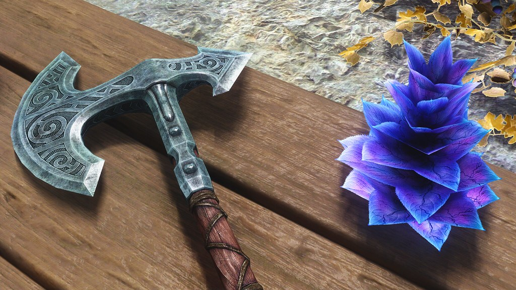 War Axe and a Deathbell | Game: The Elder Scrolls V: Skyrim