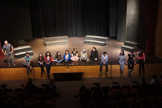 """1611 - 25 Teatro Ed. Media """"El cartel"""""""