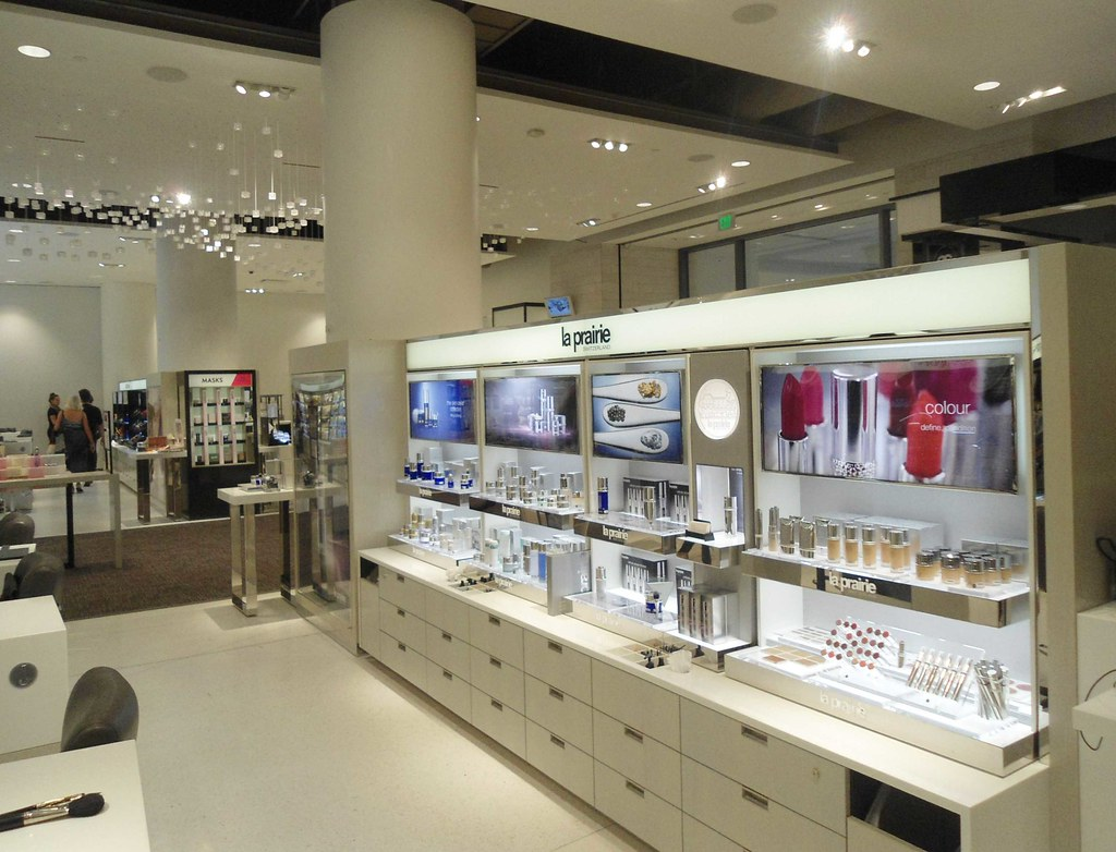 f103cd542 ... Nordstrom Seattle Flagship remodel new cosmetic department La Prairie  of Switzerland fine cosmetics | by PatricksMercy