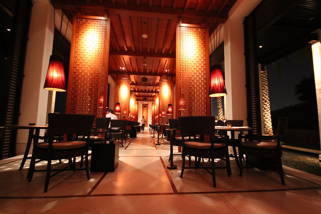 The Beach Restaurant at the Chedi
