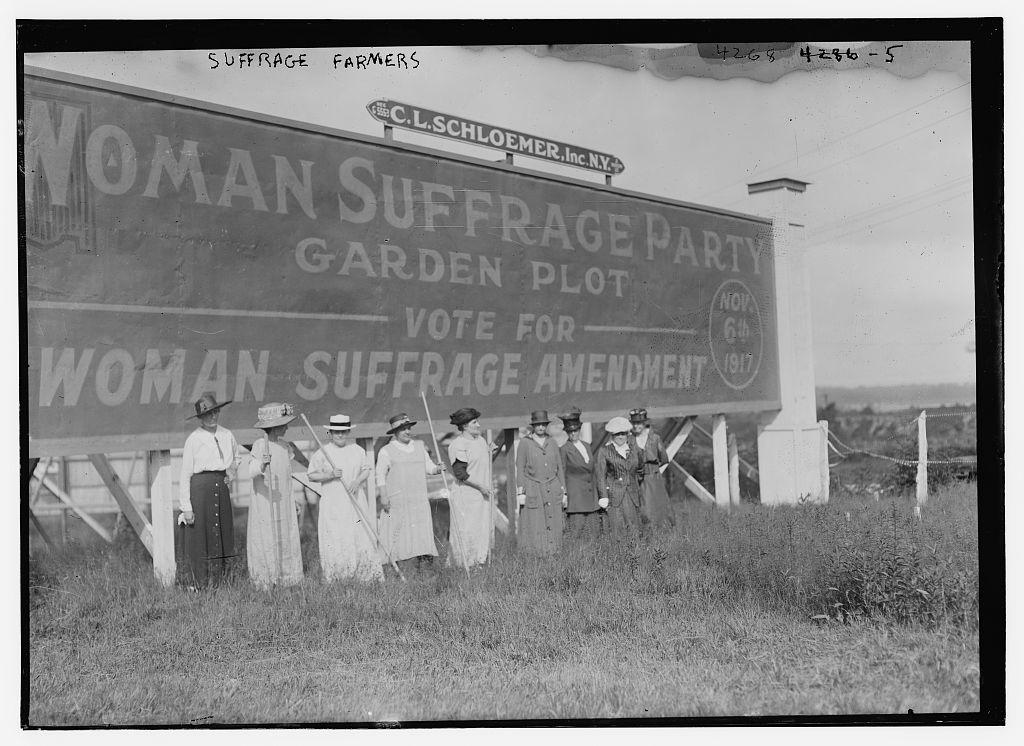 Suffrage farmers (LOC)