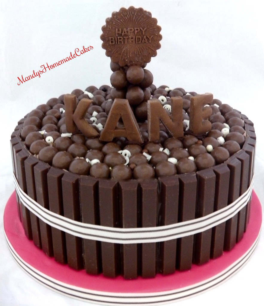 Malteser Kitkat Birthday Celebration Cake