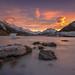Tasman Lake sunrise by zakies