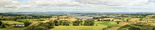 summer neilston landscape walking glasgow panorama eastrenfrewshire scotland reservoir