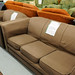 3+2 light brown fabric suite