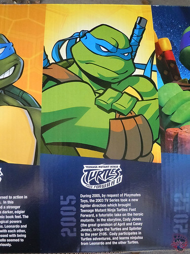 "Nickelodeon ""HISTORY OF TEENAGE MUTANT NINJA TURTLES"" FEATURING LEONARDO -  'TMNT : FAST FORWARD'  LEONARDO i (( 2015 )) by tOkKa"