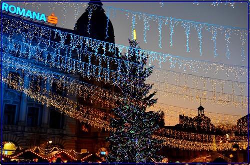 Magic Christmas night in Bucharest (1)