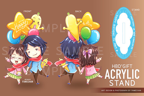 Acrylic Stand Gift | by FameChan
