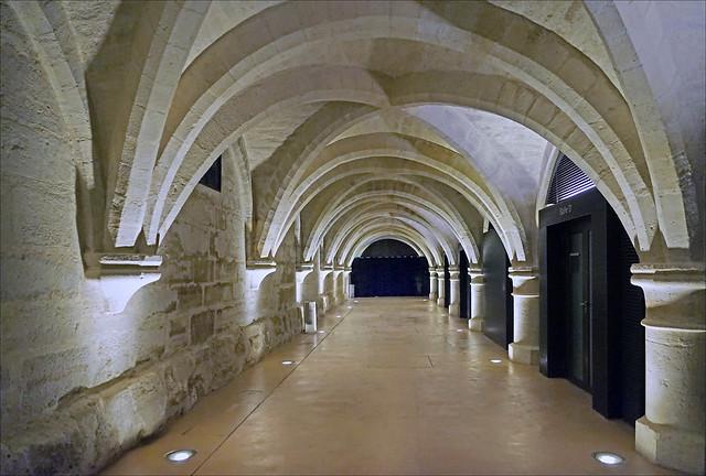 Le cellier du Collège des Bernardins (Paris)