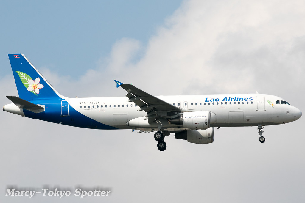 Lao Airlines / A320-214 / RDPL-34224 / NRT