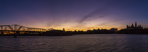 ca panorama canada skyline sunrise landscape ottawa québec gatineau parliamentbuildings 2015 alexandrabridge canon6d img6440pano