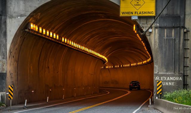 2015 - Kamloops-Lillooet Road Trip - 2 of 9 - Alexandra Tunnel