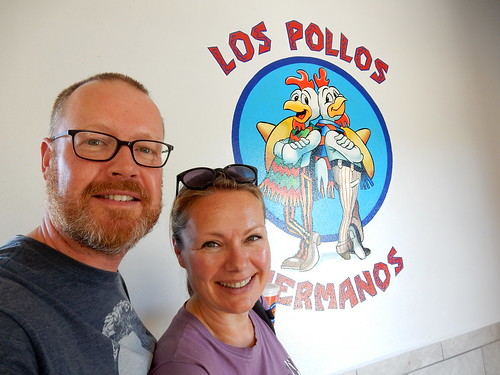 Albuquerque - Breaking Bad - lunch bij Twisters aka Los Pollos Hermanos - 1