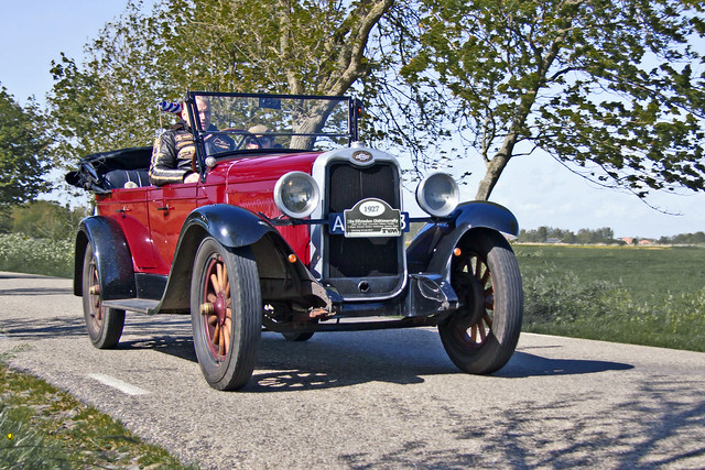 Chevrolet AA Capitol Open Tourer 1927 (3782)