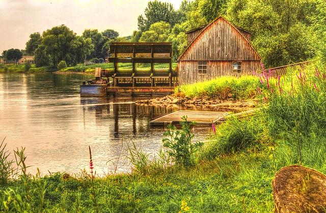 Watermill Minden-Germany