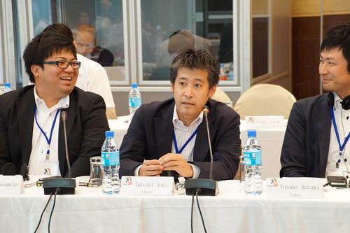 圖07日本能源與化學工會聯合會石油支部的Takeshi Aoki先生簡報「日本石油工業的現況與挑戰」