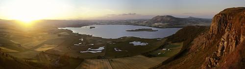 sunset panorama sunshine canon landscape scotland sigma loch lochleven 1735 perthkinross grantmorris grantmorrisphotography