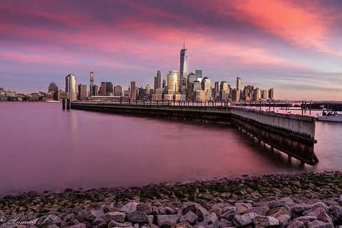 nyc newyorkcity longexposure travel sunset urban architecture skyscraper buildings blackfriday jerseycity cityscape skylines lowermanhattan freedomtower canonef24105mmf4lisusm thebestofthebest02