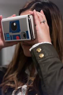 Star Wars The Force Awakens Google Cardboard from Verizon | by nan palmero