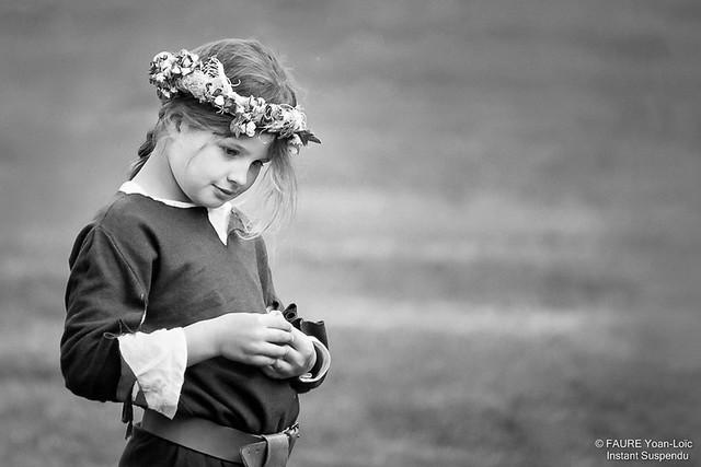La petite fille aux fleurs - Yoan-Loïc Faure