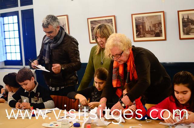 "TALLER FAMILIAR DE MUSEUS DE SITGES ""CARTA ALS REIS"""