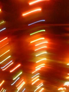 """Glowing light streaks........ By """"T"""""""